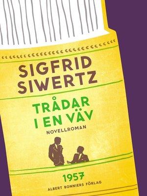 cover image of Trådar i en väv