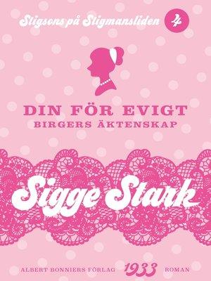 cover image of Din för evigt