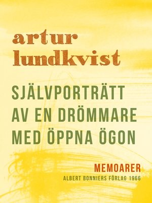 cover image of Självporträtt av en drömmare med öppna ögon