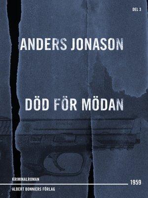 cover image of Död för mödan
