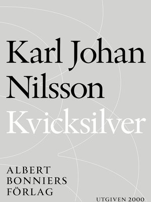cover image of Kvicksilver