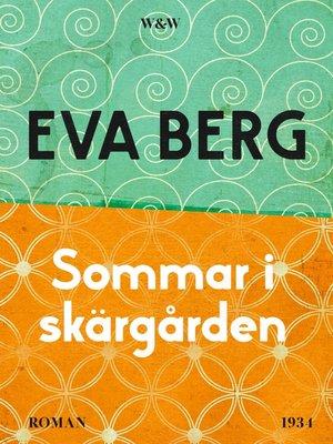 cover image of Sommar i skärgården