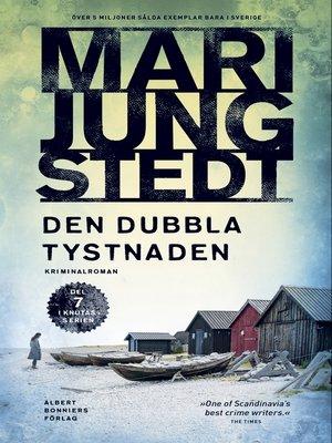 cover image of Den dubbla tystnaden