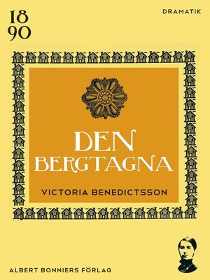 cover image of Den bergtagna