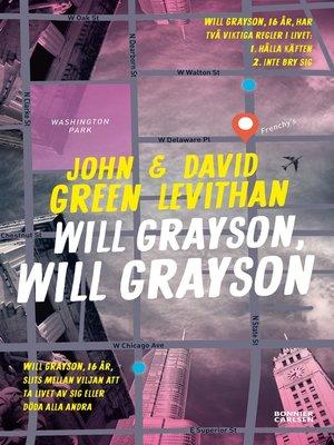 cover image of Will Grayson, Will Grayson