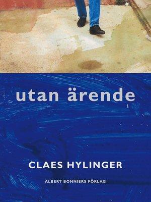 cover image of Utan ärende