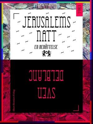 cover image of Jerusalems natt