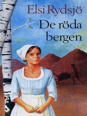 cover image of De röda bergen