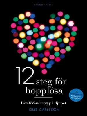 cover image of 12 steg för hopplösa