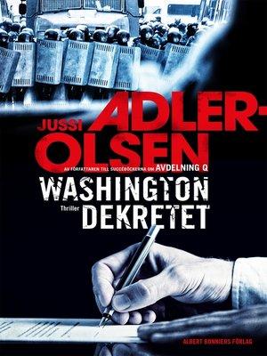 cover image of Washingtondekretet
