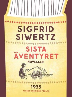 cover image of Sista äventyret