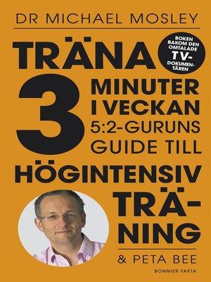 cover image of Träna 3 minuter i veckan