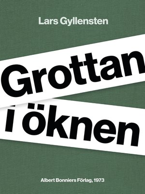 cover image of Grottan i öknen