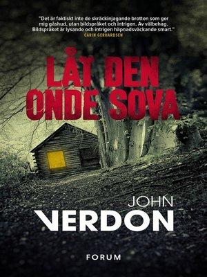 cover image of Låt den onde sova