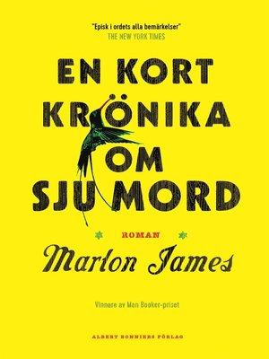 cover image of En kort krönika om sju mord