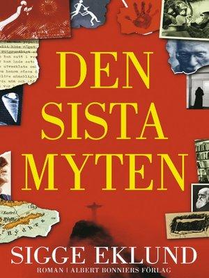 cover image of Den sista myten