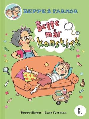 cover image of Beppe och farmor – Beppe mår konstigt