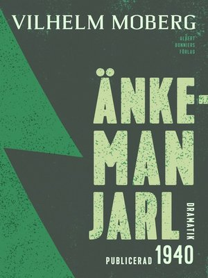 cover image of Änkeman Jarl