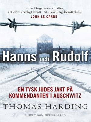 cover image of Hanns och Rudolf