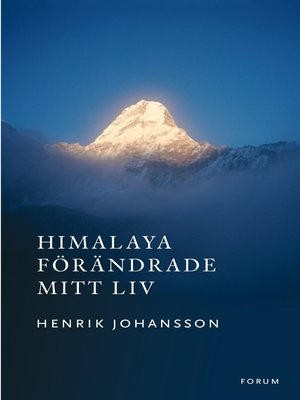 cover image of Himalaya förändrade mitt liv
