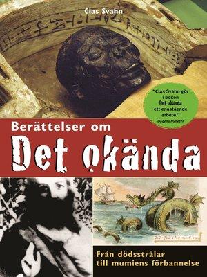 cover image of Berättelser om det okända