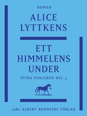 cover image of Ett himmelens under