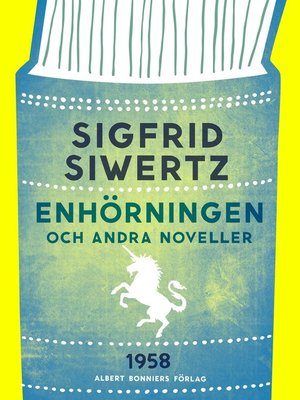 cover image of Enhörningen och andra noveller