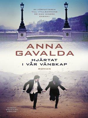 cover image of Hjärtat i vår vänskap