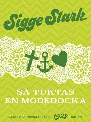 cover image of Så tuktas en modedocka