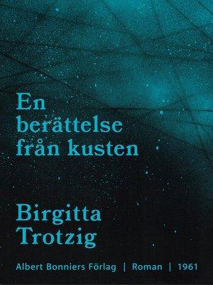 cover image of En berättelse från kusten