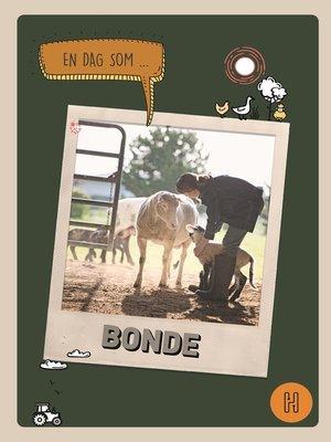 cover image of En dag som bonde