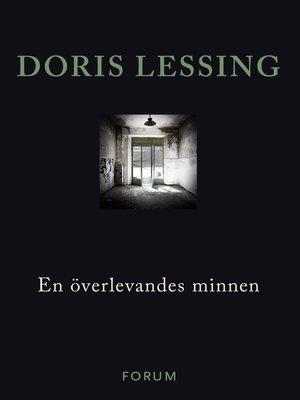 cover image of En överlevandes minnen