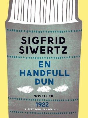 cover image of En handfull dun