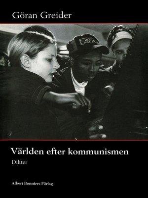 cover image of Världen efter kommunismen