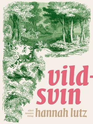 cover image of Vildsvin