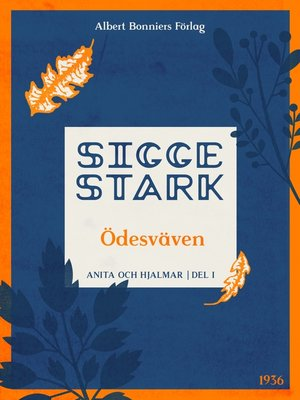 cover image of Ödesväven