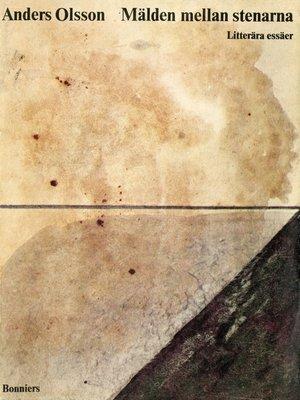 cover image of Mälden mellan stenarna