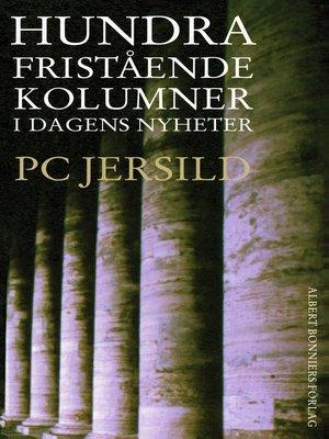 cover image of Hundra fristående kolumner i Dagens Nyheter