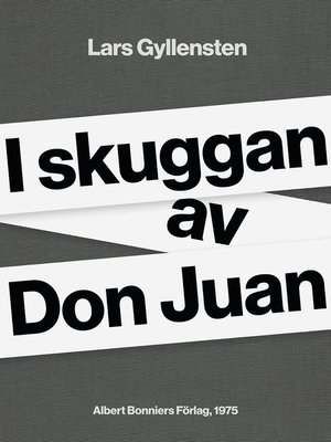 cover image of I skuggan av Don Juan