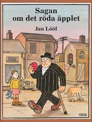 cover image of Sagan om det röda äpplet