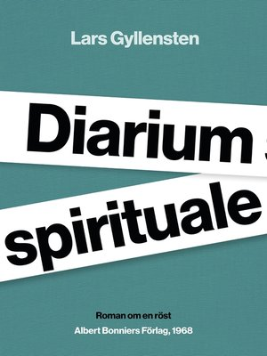 cover image of Diarium spirituale