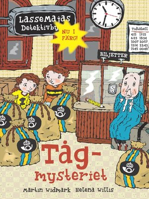 cover image of Tågmysteriet