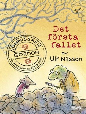 cover image of Kommissarie Gordon. Det första fallet