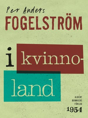 cover image of I kvinnoland