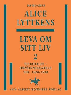 cover image of Leva om sitt liv 2