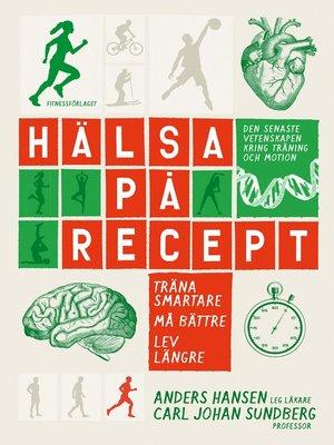 cover image of Hälsa på recept
