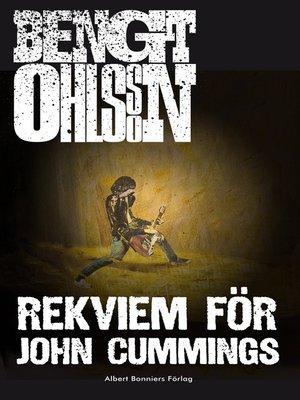 cover image of Rekviem för John Cummings