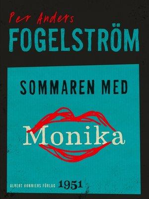 cover image of Sommaren med Monika
