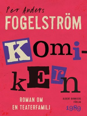 cover image of Komikern