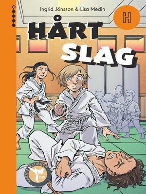 cover image of Hårt slag